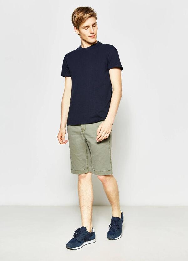 G&H cotton regular-fit Bermuda shorts | OVS