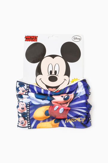 Scaldacollo stampa Mickey Mouse, Bianco panna, hi-res