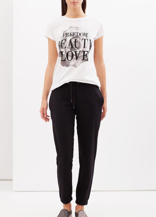 Pantaloni in felpa tinta unita | OVS