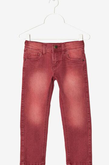 Five-pocket jeans , Red, hi-res
