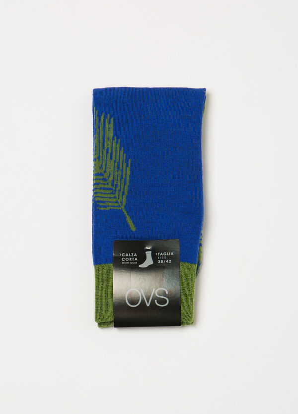 Short stretch socks with pattern | OVS