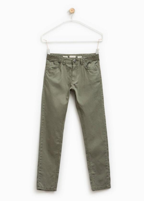 100% cotton chino trousers | OVS