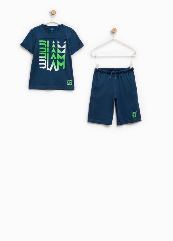 Completo t-shirt e bermuda stampati | OVS
