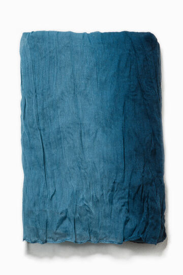 Ombré effect scarf, Blue, hi-res