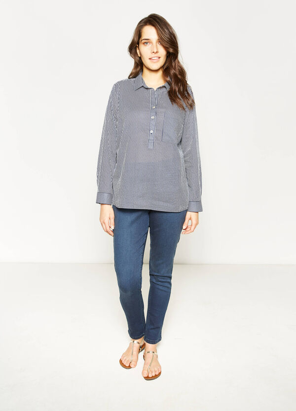 Blusa con stampa all-over Curvy | OVS
