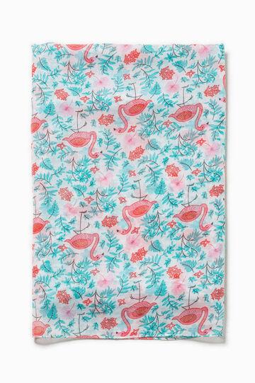 Flamingo scarf, Multicolour, hi-res