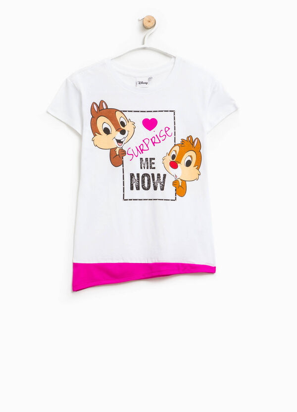T-shirt with Chip 'n' Dale print | OVS