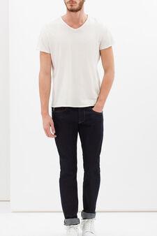 Plain jeans, Denim Blue, hi-res
