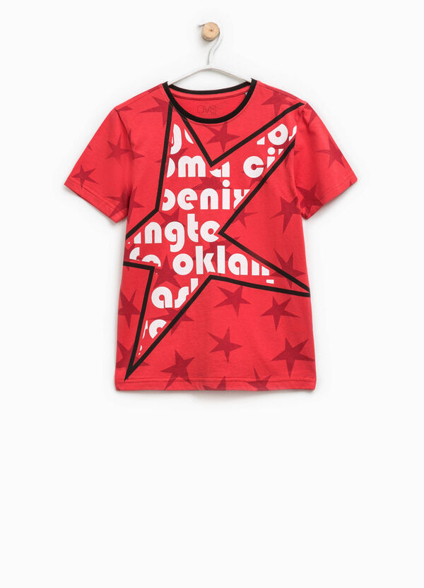 Star T-shirt with print | OVS