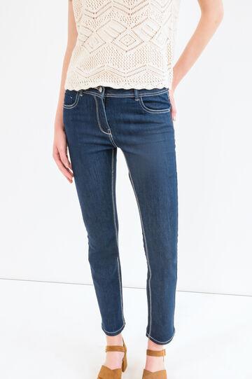 Skinny fit stretch jeans, Denim, hi-res