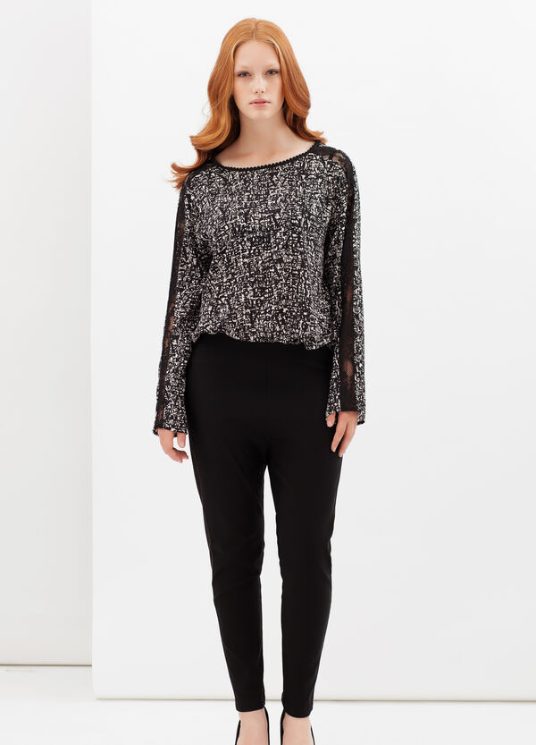 Curvyglam trousers with elastic | OVS