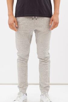 Pantaloni tuta cotone G&H, Grigio chiaro, hi-res
