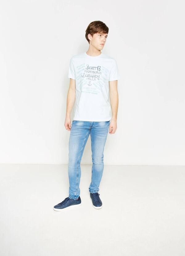 T-shirt in cotone girocollo stampa G&H | OVS
