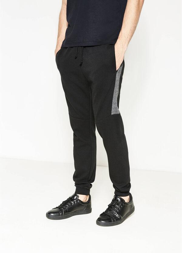 Pantalón de chándal de rayas de algodón | OVS