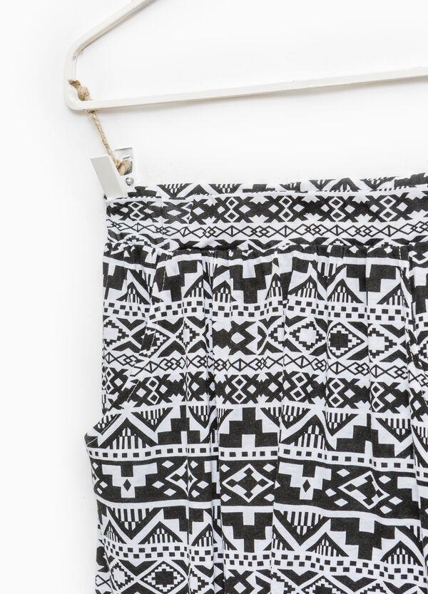 Pantaloni morbidi misto cotone | OVS