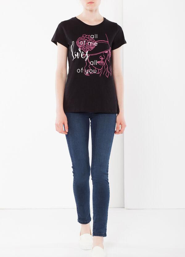 T-shirt dettagli fluo | OVS