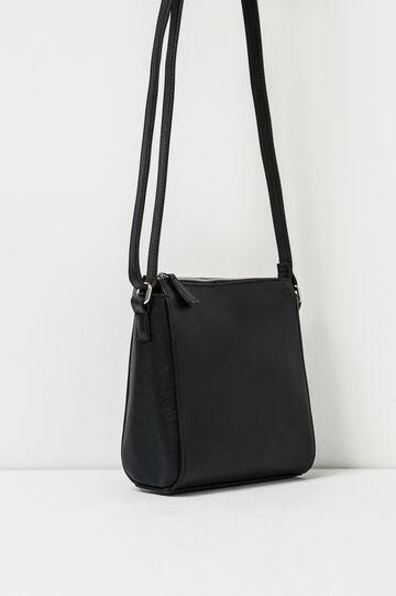 Bag with adjustable shoulder strap., Black, hi-res