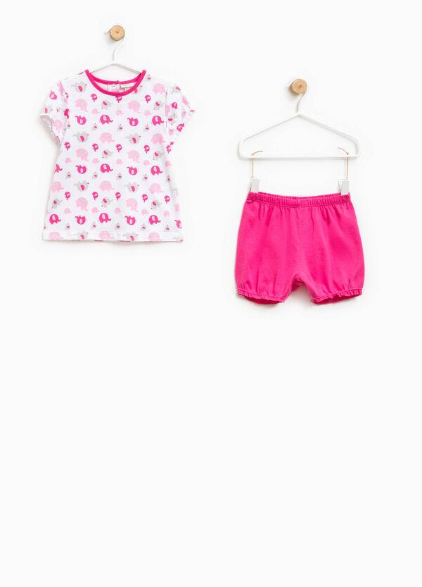 100% Biocotton pyjamas with elephants | OVS