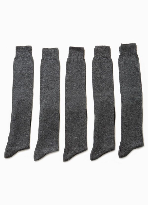 Pack de cinco pares de calcetines largos | OVS