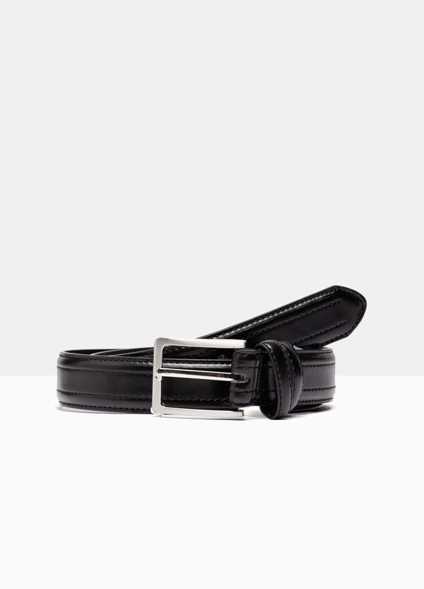 Skinny belt with stitching | OVS