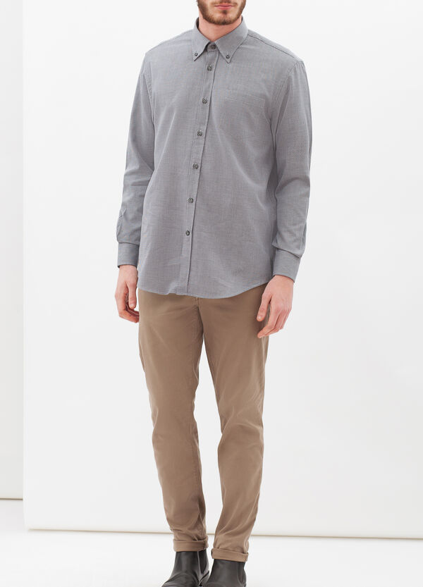 Regular-fit patterned shirt | OVS