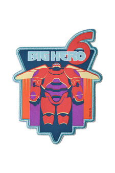 Big Hero 6 iron-on patch, Multicolour, hi-res