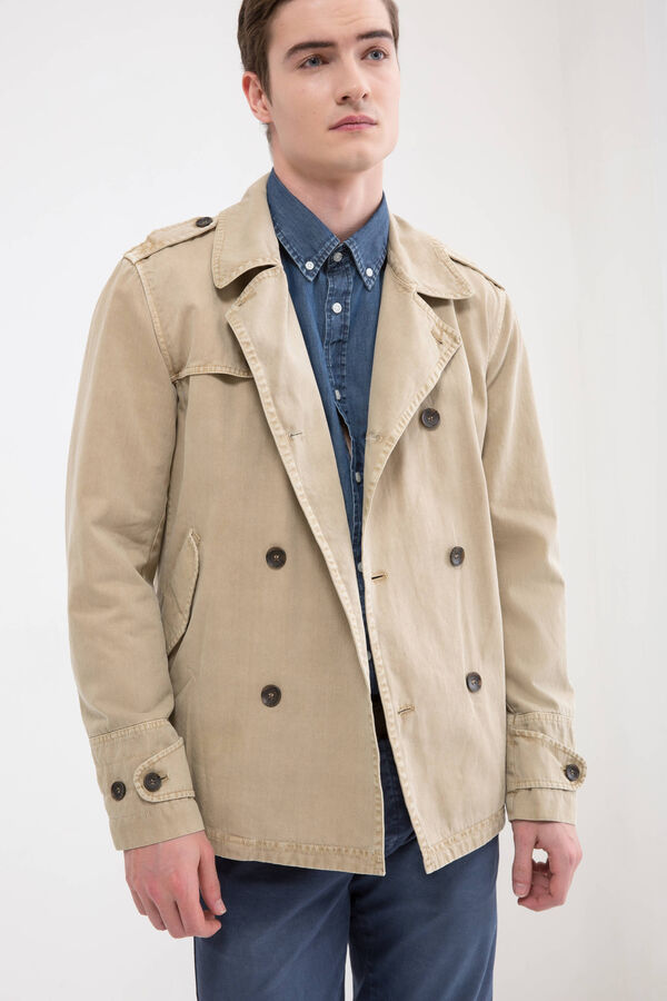 Rumford 100% cotton trench | OVS