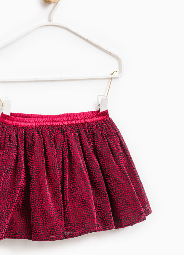 Skirt with elasticated waist   OVS