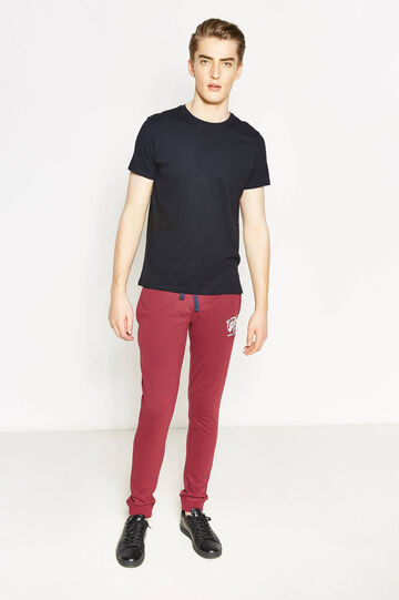 G&H Joggers in 100% cotton, Claret Red, hi-res