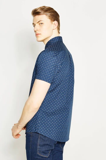 Printed regular-fit casual shirt