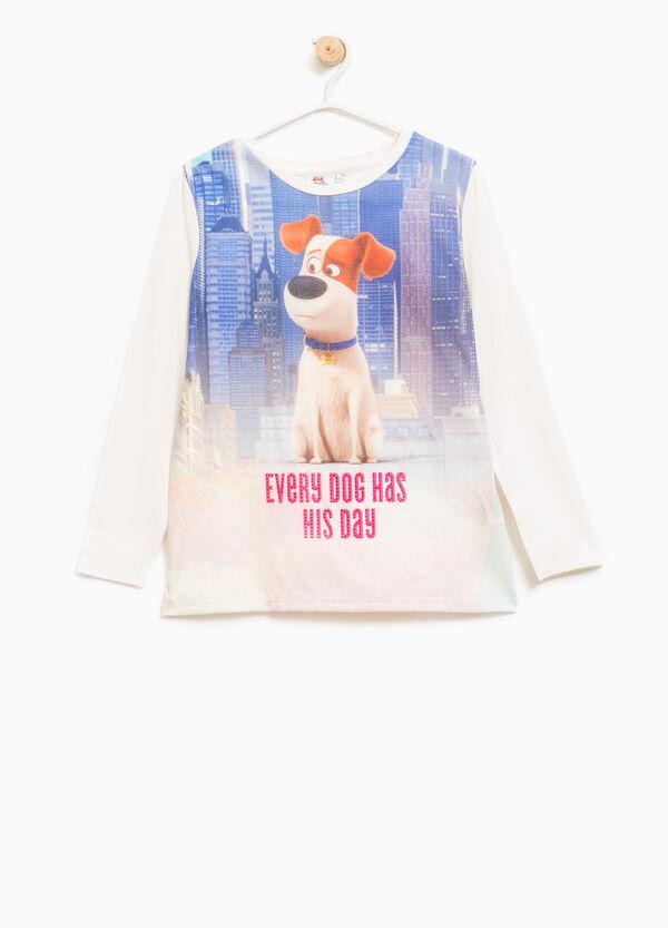 Maxi Pets print cotton T-shirt | OVS