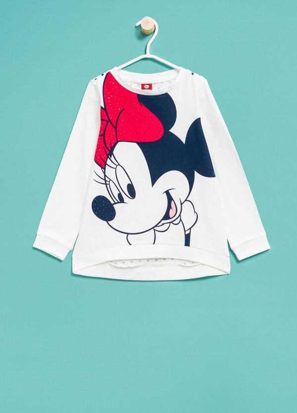 Camiseta con estampado grande de Minnie y espalda de lunares. | OVS