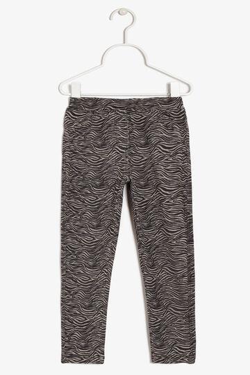 Pantaloni in cotone, Grigio pietra, hi-res