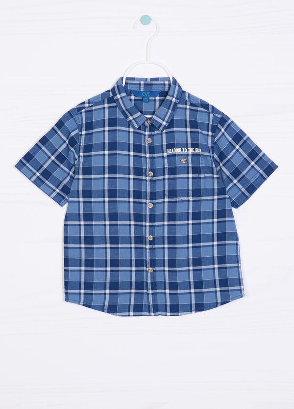 Camicia puro cotone tartan | OVS