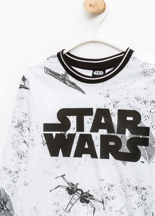 Star Wars pattern cotton T-shirt | OVS