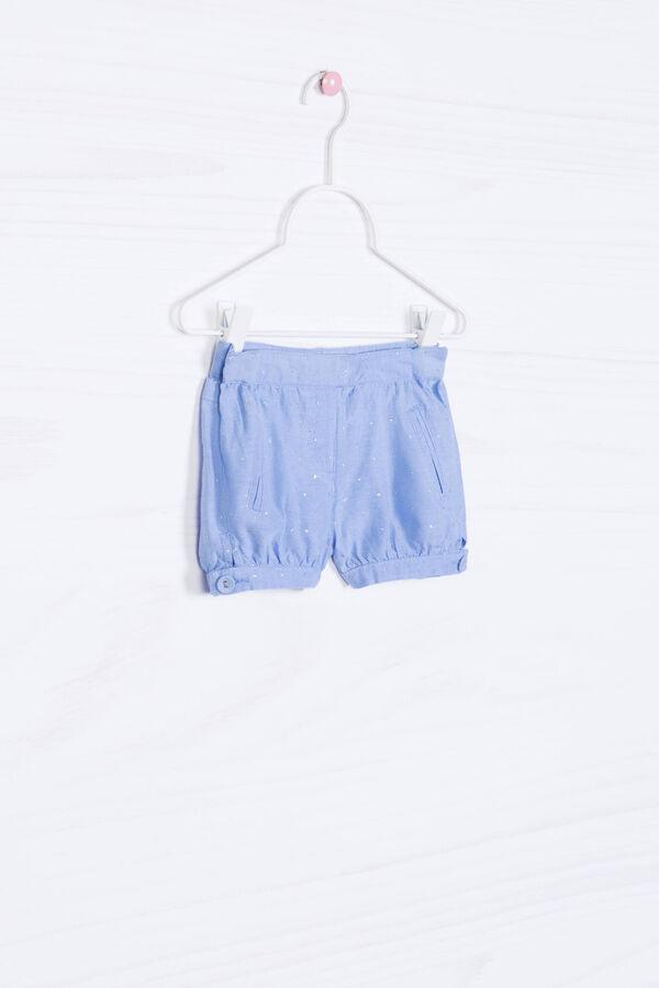 Pantaloni corti cotone fantasia | OVS