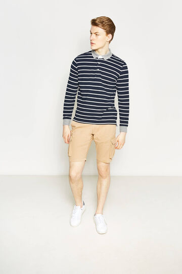 Regular-fit chino Bermuda shorts