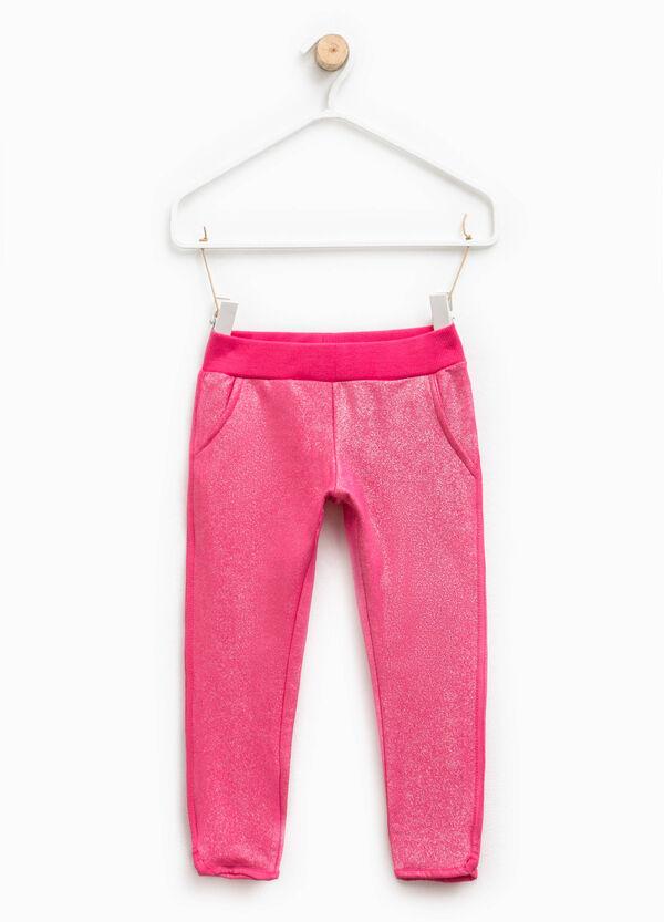 Pantalón elástico con purpurina | OVS
