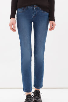 Slim-fit stretch jeans, Cornflower Blue, hi-res