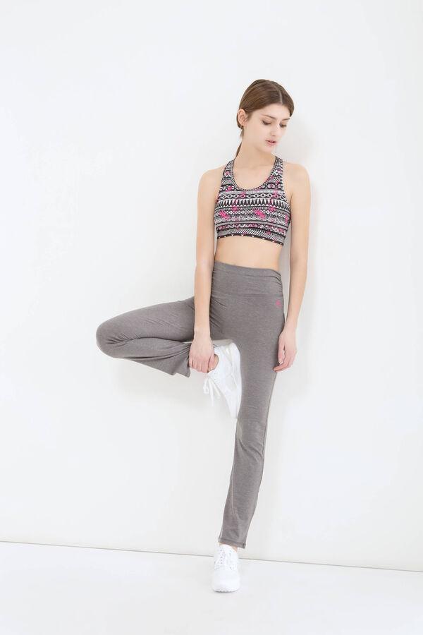 Solid colour cotton gym pants | OVS
