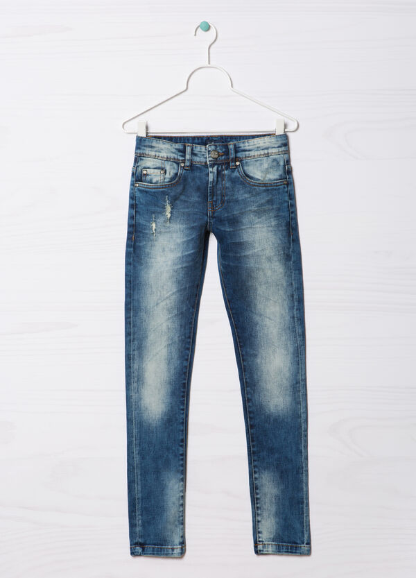 Blue Black stretch jeans | OVS