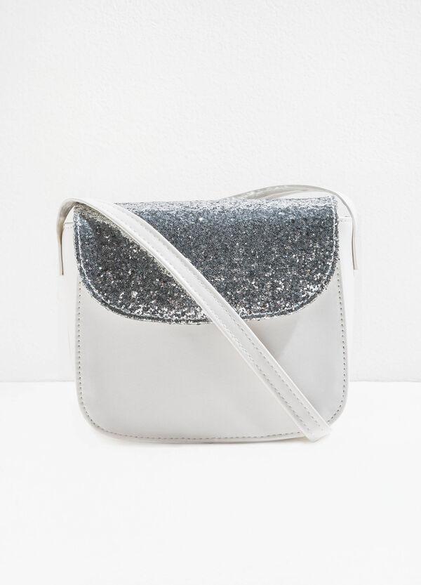 Shoulder bag with glitter flap | OVS