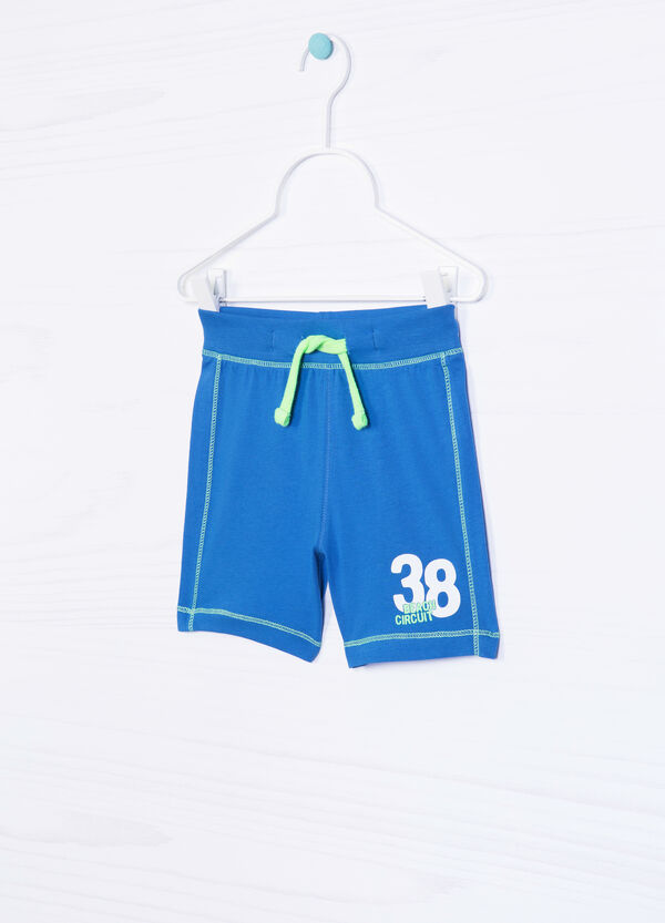 100% cotton Bermuda shorts with drawstring | OVS