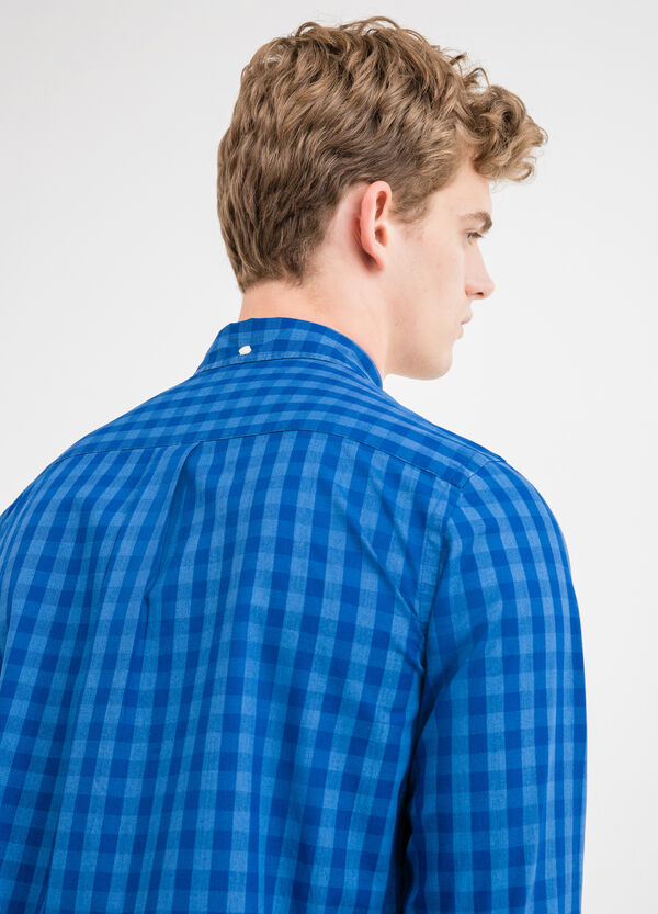 Check casual shirt in 100% cotton | OVS