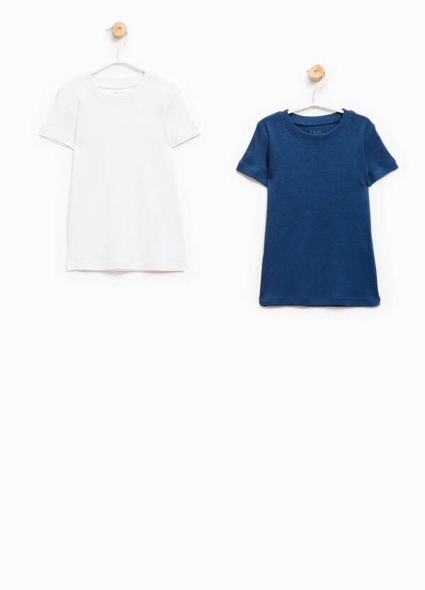 Set due t-shirt intime puro cotone | OVS