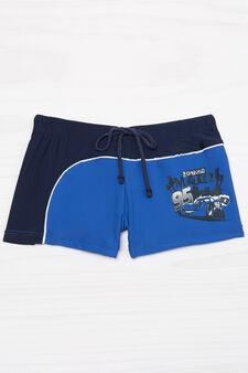 Two-tone stretch bottom, Blue/Light Blue, hi-res