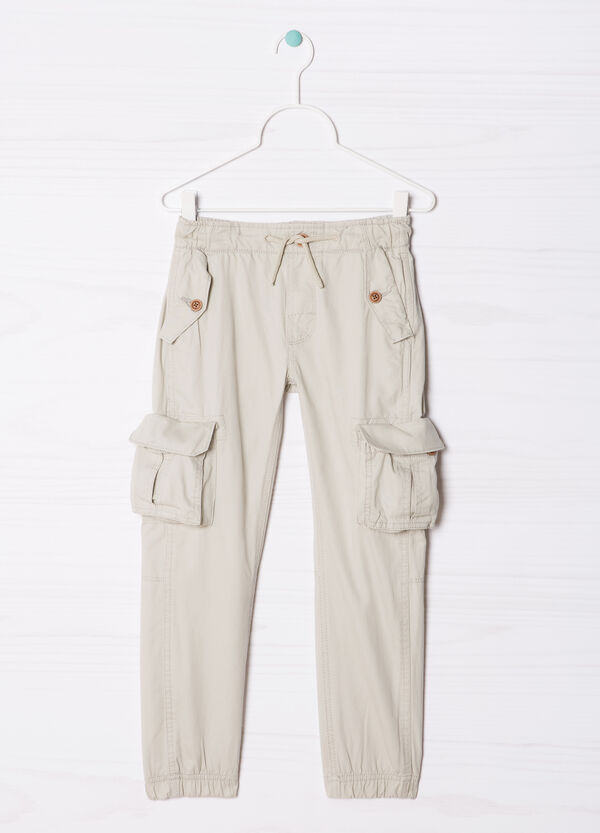 Stretch joggers with side pockets | OVS