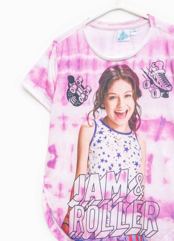 Soy Luna mis-dyed-effect T-shirt | OVS