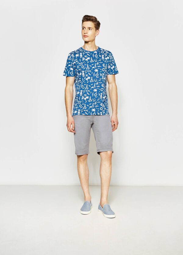 Bermuda slim fit cotone stretch | OVS