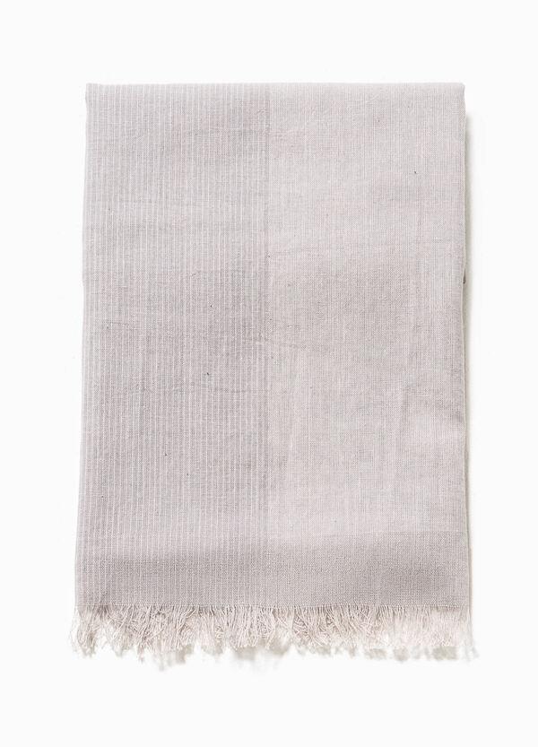Bufanda bicolor de algodón | OVS